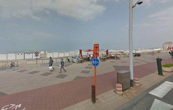 De Paardenmarkt ligt voor de kust van Knokke, op een paar kilometer van Zeeuws-Vlaanderen.