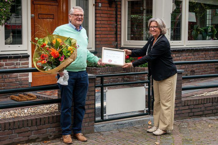 Eltjo Kok werd in 2020 verkozen tot beste buur