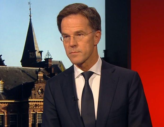 Mark Rutte in het 'Gesprek met de minister-president'.
