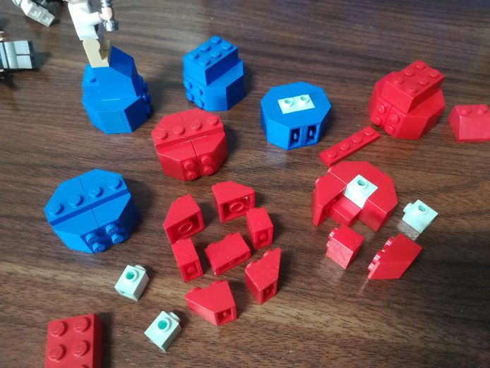 Legomasters at home