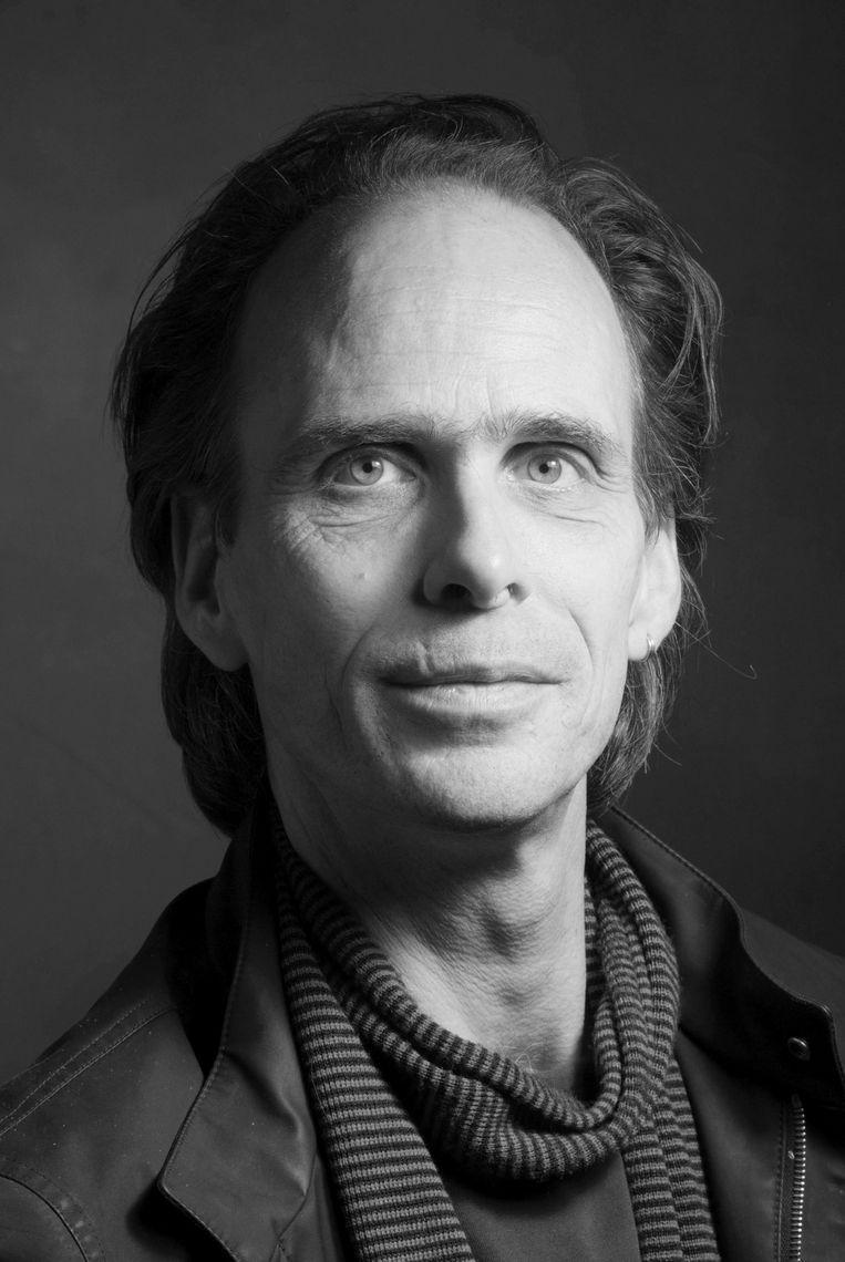 Tijs van den Boomen is schrijver en stadsonderzoeker. Beeld Jan Banning