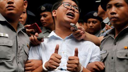 Twee Reuters-journalisten veroordeeld tot 7 jaar cel in Myanmar