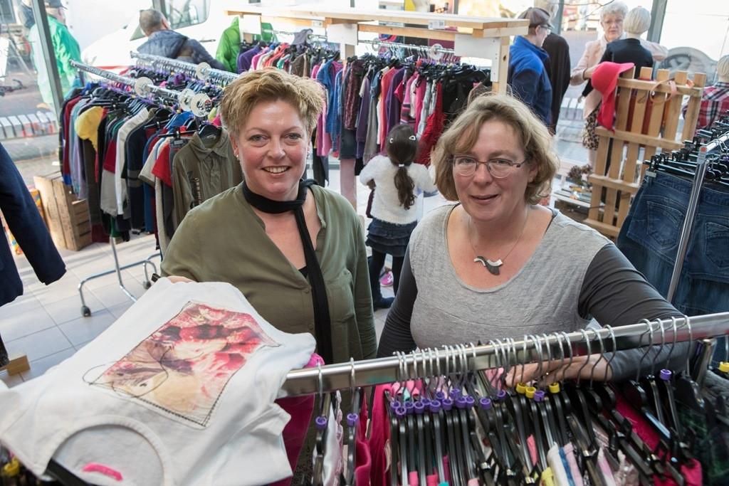 De dames Veenbergen en Beeker van Bij de Buuren. Foto: Geard Vrakking