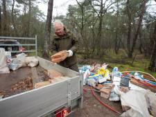 Alweer puin gedumpt in het Goois Natuurreservaat