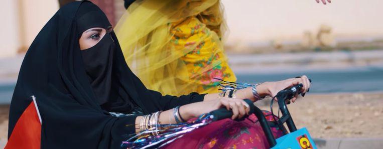 Vrouwen morgen in het Arabische koninkrijk niet met de wagen rijden. Beeld rv