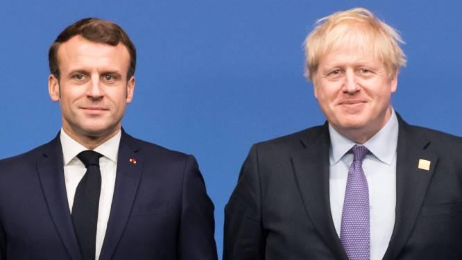 """Sous-marins: Johnson et Macron d'accord pour """"travailler en étroite collaboration"""""""