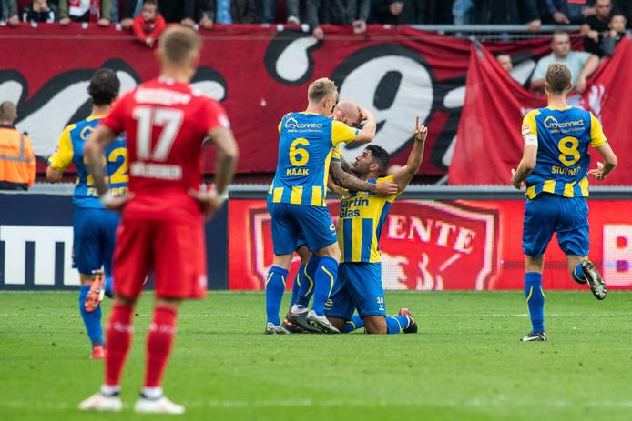 FC Twente is teleurgesteld na de eerste nederlaag van het seizoen.