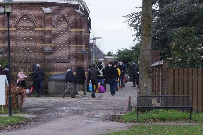 De sluiting van het migrantenhotel in Kaatsheuvel.