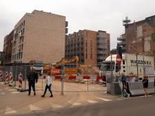 Nog sloop in Tilburg, toch is bouw 76 meter hoge woontoren in Groningen allang begonnen: 'Net een Meccano-doos'