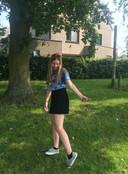 Sharon Serneels (15) uit Ranst, studeert Ondernemen & IT