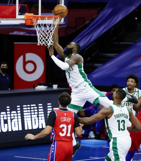 Celtics-ster Brown houdt dubbel gevoel over aan persoonlijk record