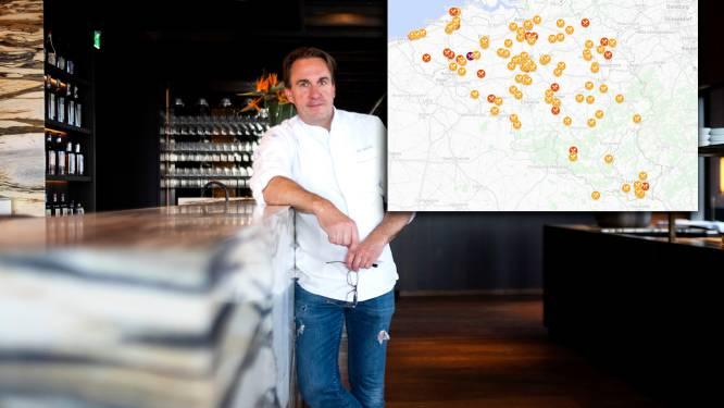 IN KAART. Zilte van chef Viki Geunes krijgt drie Michelinsterren, ontdek hier alle sterrenrestaurants
