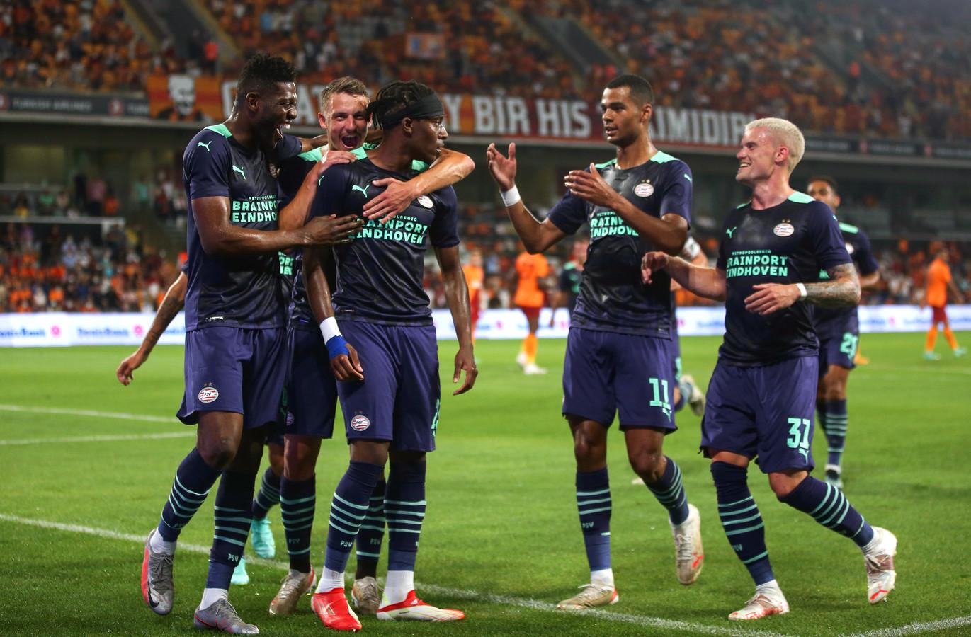 PSV kon afgelopen week in Turkije twee goals vieren en ging door naar de derde voorronde van het toernooi om de Champions League.
