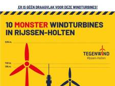 Oproep via sociale media aan inwoners Rijssen-Holten: 'laat je geen oor aanwaaien, verzet je tegen windturbines'