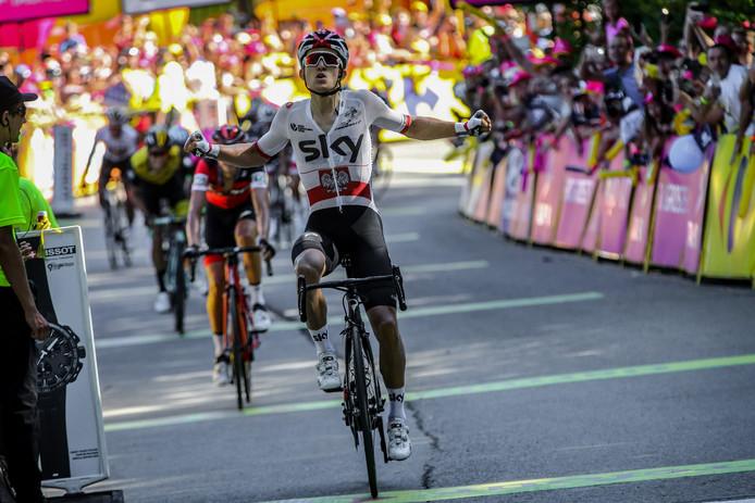 Michal Kwiatkowski won vorig jaar de Ronde van Polen.
