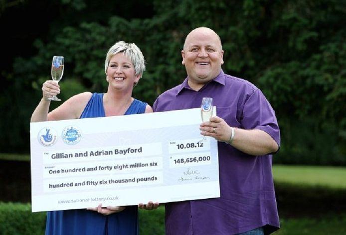L'argent a également eu raison du couple formé par Gillian et Adrian Bayford, qui ont remporté la somme colossale de 178 millions d'euros en 2012.