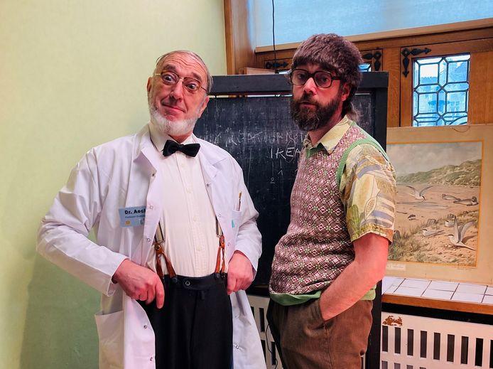 Dr. Aeck en zijn assistent Stijn voeren wetenschappelijk onderzoek uit op Margriet. Hun avonturen zijn te volgen via Magriet, The Movie.