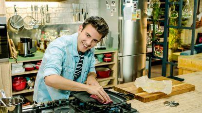 """De nieuwe VTM-kok Loïc Van Impe is bijzonder gedreven: """"Na Pukkelpop heb ik nog 150 koekjes staan bakken"""""""