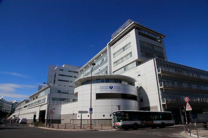 L'hôpital parisien Georges-Pompidou.