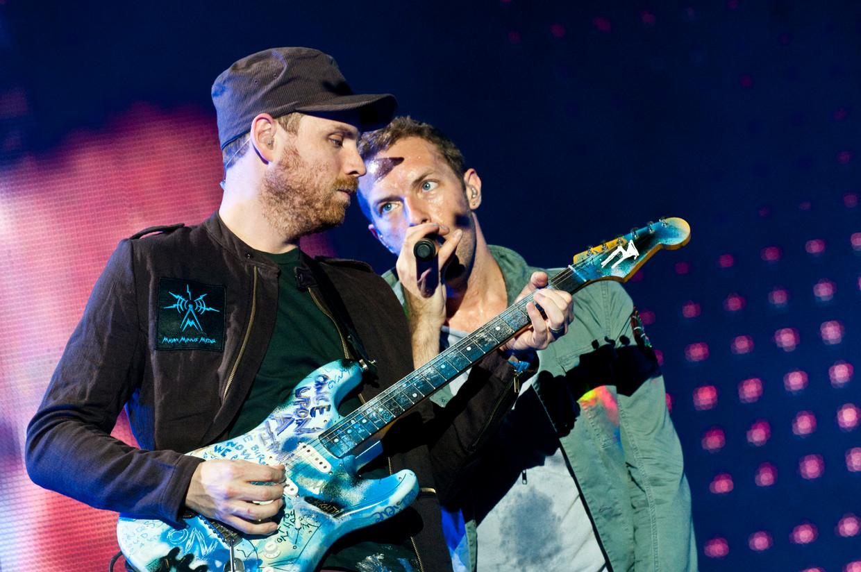 Coldplay Beeld Humo / Eddy Petroons