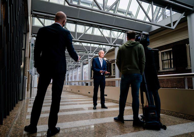Minister Stef Blok van Buitenlandse Zaken. Beeld EPA