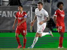 Real Madrid raakt Kroos kwijt in Spaanse titelstrijd