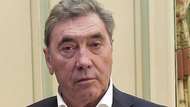Eddy Merckx reageert verbolgen op de 'mechanische doping' van afgelopen zaterdag. Beeld