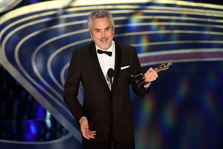 Roma-regisseur Alfonso Cuarón. Beeld AFP