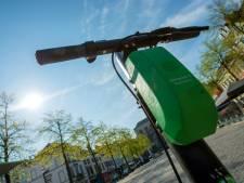 Les lieux à risque pour les trottinettes électriques à Bruxelles repris sur une carte