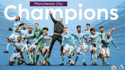 """City kampioen voor de televisie na uitschuiver United tegen rode lantaarn. Kompany: """"Ik kan het niet geloven"""""""
