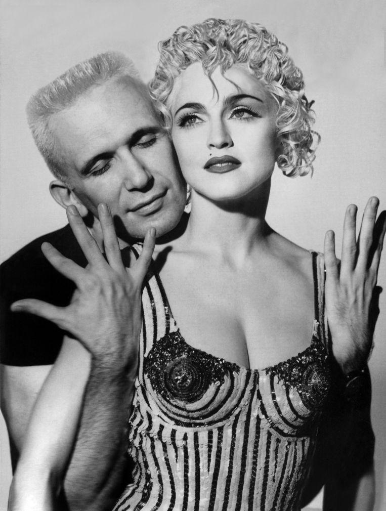 Madonna & Jean Paul Gautier. Beeld rv