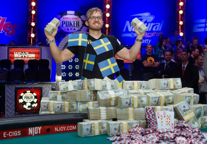 De Zweed Martin Jacobson is de nieuwe wereldkampioen poker