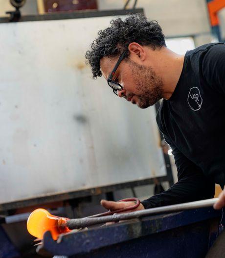 Máximavaasje van Leerdamse glasblazer wordt 14 mei gepresenteerd