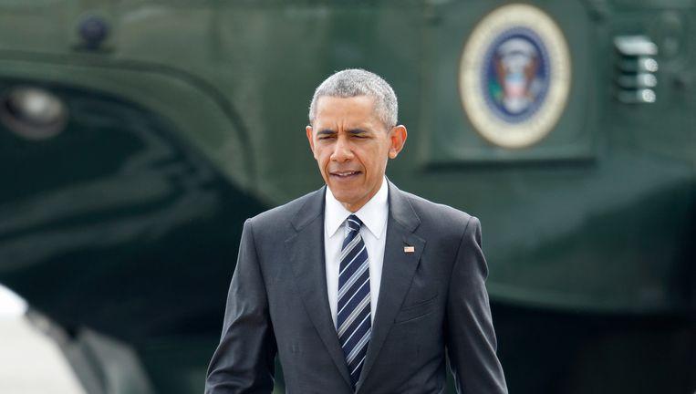 Barack Obama hoopt voor de Amerikaanse presidentsverkiezingen een handelsverdrag met Europa rond te krijgen. Beeld © Getty Images