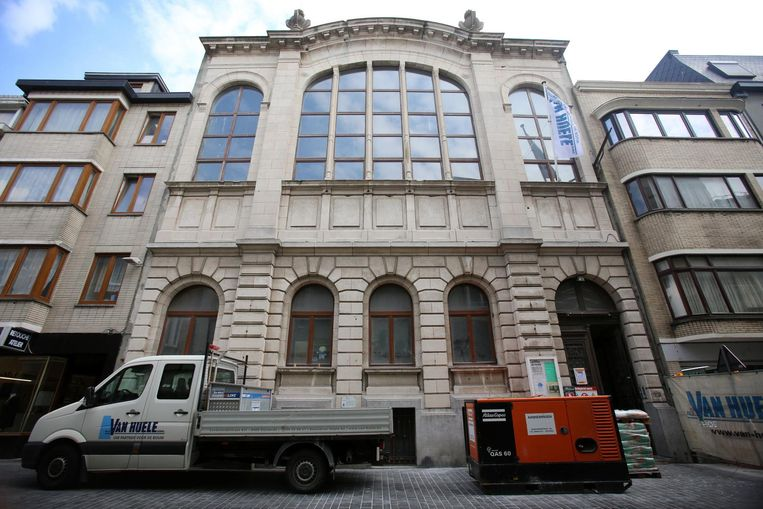 De Albertschool werd gebouwd in 1908.
