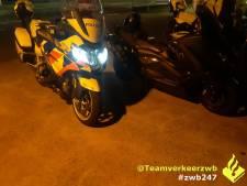 Motorrijder rijdt met 130 kilometer per uur door rood in Breda