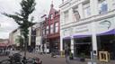 Markstraat 6, waar eethuis Layla is gevestigd is compleet rood geschilderd.