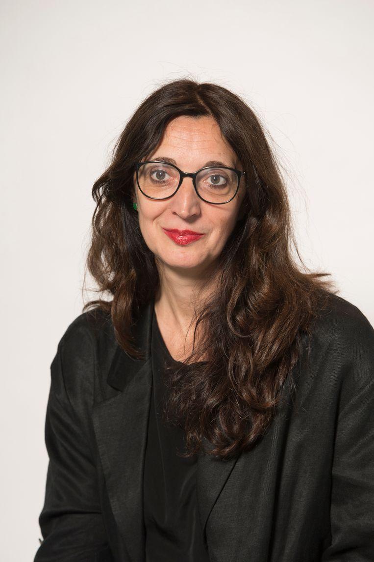 Kathleen Weyts, directeur van kunstmagazine 'HART': 'Menselijke veerkracht.' Beeld Benny De Grove
