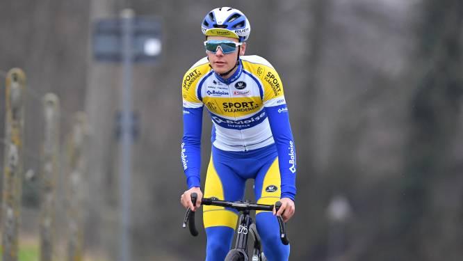 """Arne Marit knap negende in GP Monseré: """"Tevreden, al zat er nog meer in"""""""