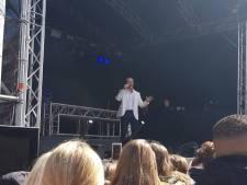 Dries Roelvink komt niet langs controle op Bevrijdingsfestival Wageningen