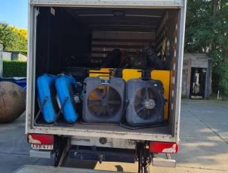 Kalmthouts bedrijf stelt luchtontvochtigers en luchtverplaatsers ter beschikking van slachtoffers overstromingen