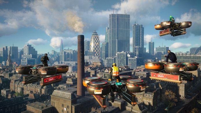Even een cargodrone hacken, en je bent meester over het luchtruim boven Londen.