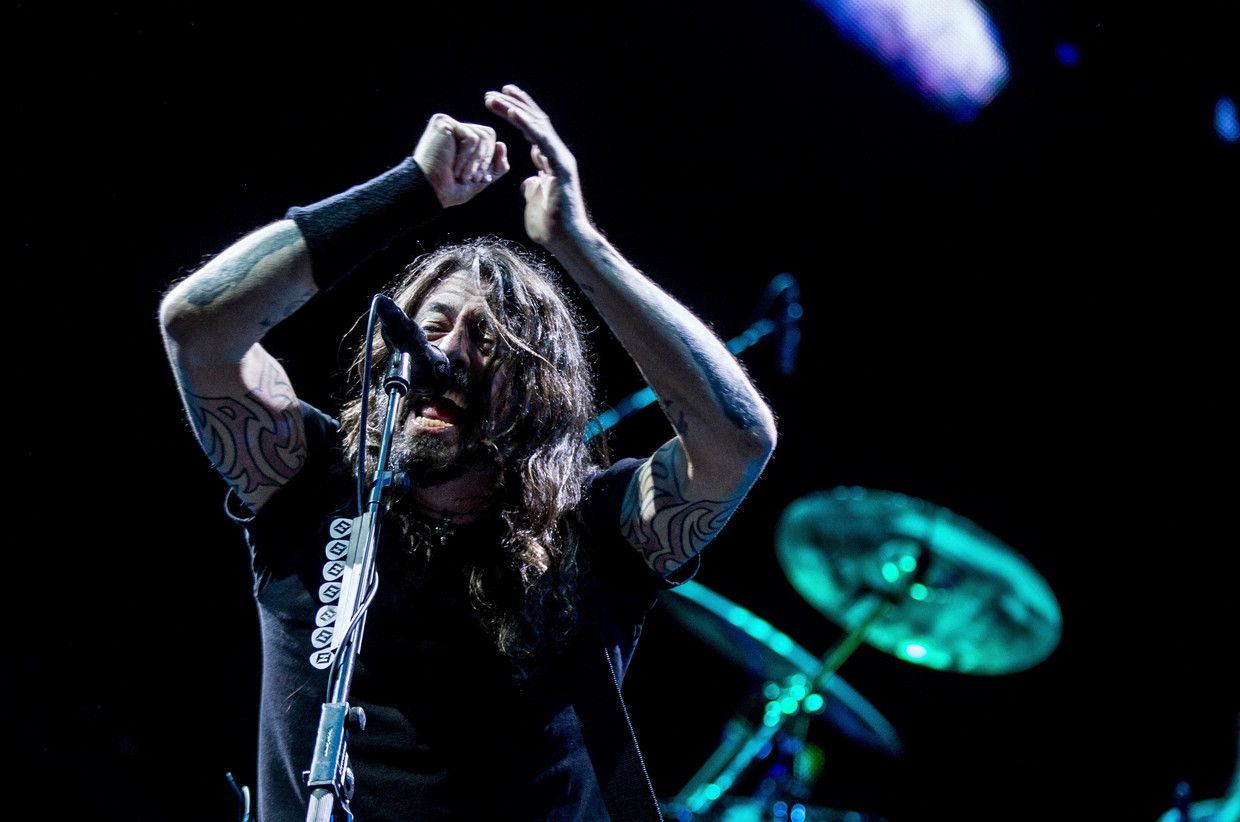 Dave Grohl (Foo Fighters) Beeld Getty Images