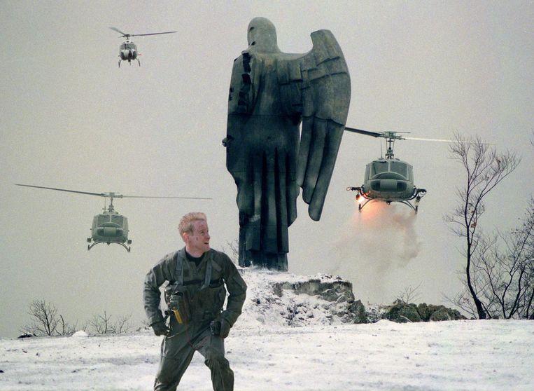 Owen Wilson in Behind Enemy Lines. Beeld