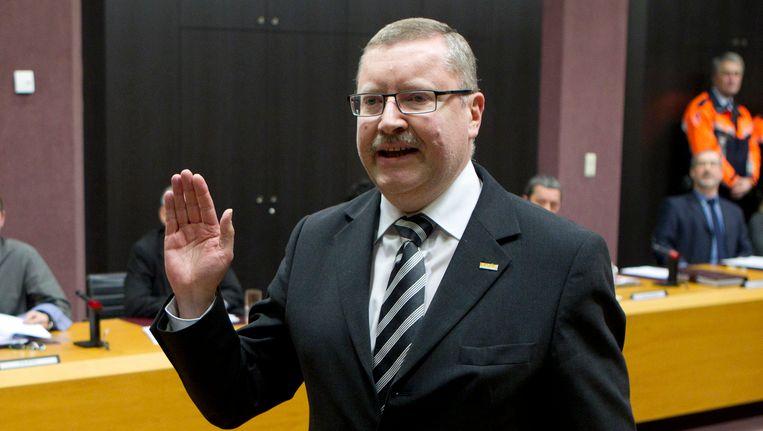 Denderleeuws burgemeester Jan De Dier.