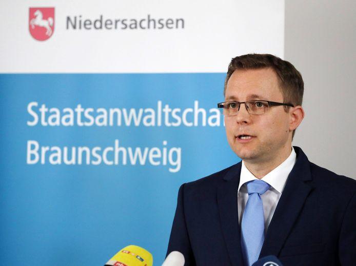Le procureur général allemand Hans Christian Wolters.