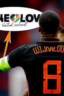 Wijnaldum draagt in Boedapest band met tekst 'OneLove'