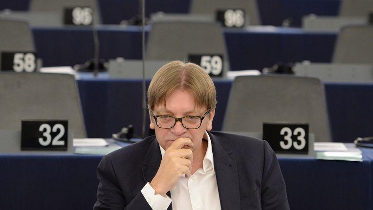 De liberale fractieleider in Europa ziet 'vooruitgang' in de voorstellen die Griekenland gisteren indiende. Beeld EPA