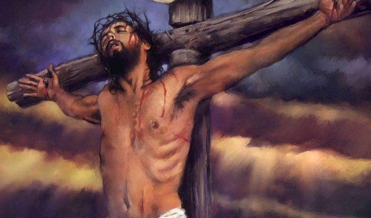 Jezus' laatste woorden aan het kruis? Medisch gezien onmogelijk. Beeld