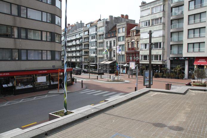 Vanaf 3 mei nog enkel eenrichtingsverkeer in Kustlaan tussen Van Bunnenlaan en Lippenslaan